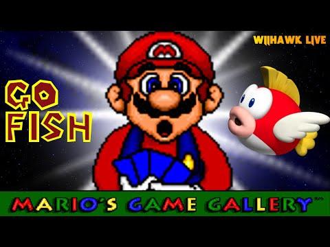 GO FISH! | Mario's Game Gallery | Livestream v. 25.11.18