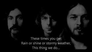 "Pink Floyd - "" Louder than Words ""  with  LYRICS"