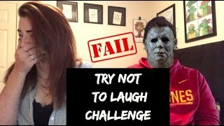 Try Not To Laugh Challenge - Halloween Edition - Part 1
