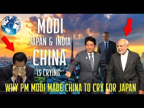 Why PM Modi made China to Cry for Japan and India