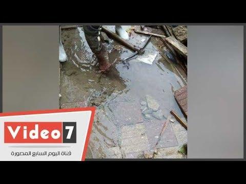 اضبط مخالفة.. قطع المياه وانفجار خط الصرف الصحى بمدرسة فى الخانكة  - نشر قبل 24 ساعة