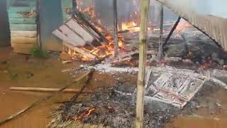 MORE VILLAGES BURNT DOWN BY CAMEROON ARMY.