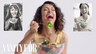 Download Liza Koshy Re-Creates Stock Photos | Vanity Fair Mp3 and Videos