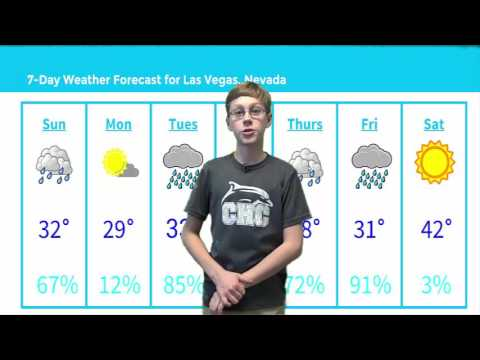 Weather Center Live Forecast | School Film Project