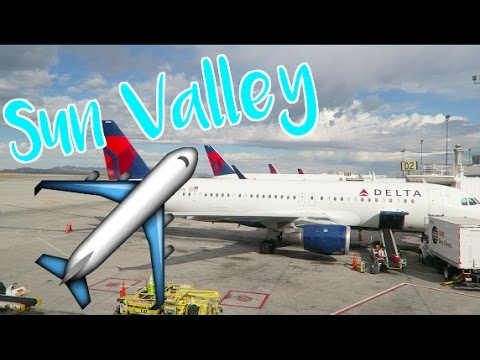 Sun Valley Vlogs - Day 1 // Travel Vlog