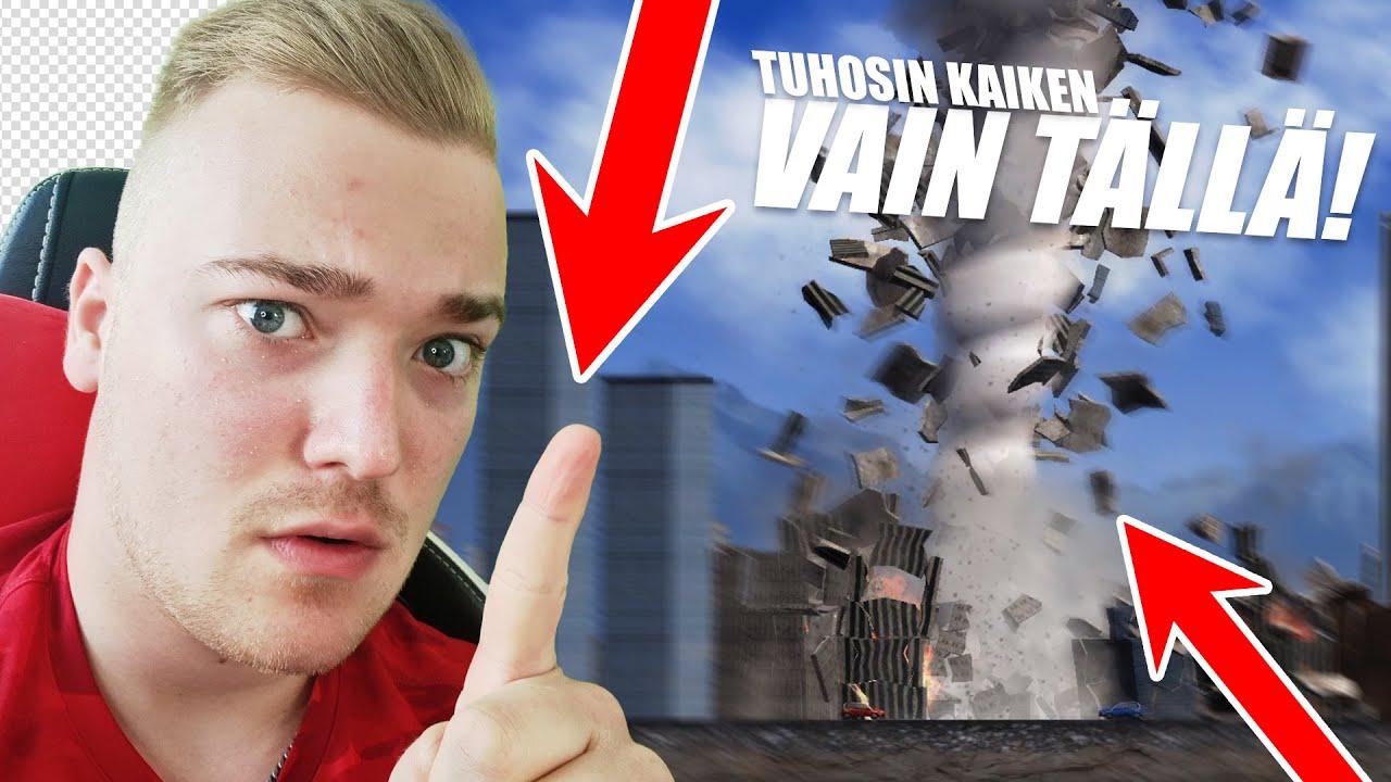 TUHOSIN MAAILMAN AINOASTAAN TÄLLÄ   City Smash