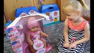 Кукла БЕБИ БОН!!! Распаковка и Обзор Куклы Doll Baby Born Review Unboxing Dolls Toys