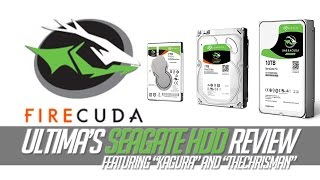 Seagate BarruCuda and FireCuda Gamer's Review