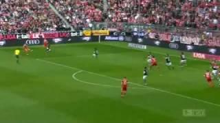 Bayern - Hannover 7-0 Bundesliga
