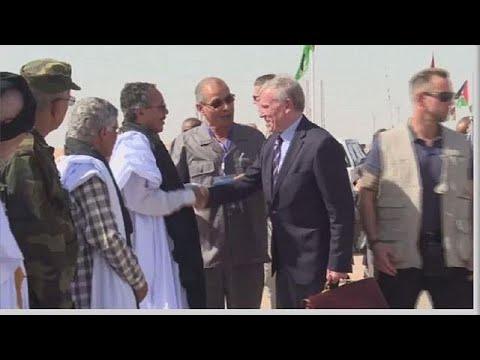 UN Envoy meets leaers of Polisario Front
