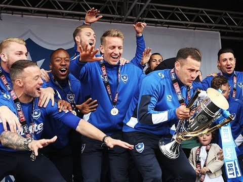 PROMOTION PARTY | Pompey celebrate Sky Bet League Two title at Southsea common