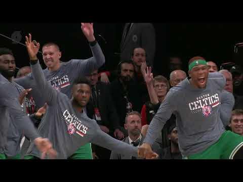 Boston Celtics vs Portland Trail Blazers : November 11, 2018