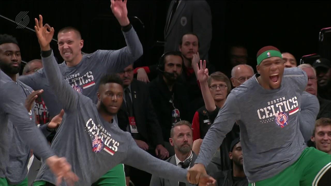Boston Celtics Vs Portland Trail Blazers : November 11