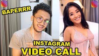TAHUN BARU VIDEO CALL SAMA CEWEK DARI INSTAGRAM!! JULIA MANGO NAMANYA 😍