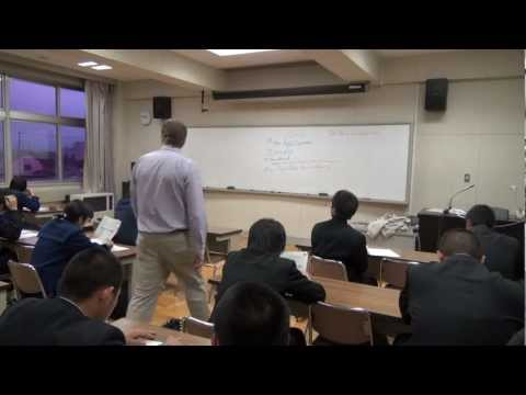 Sample OUC English Conversation Courses at Takikawa Nishi High School  #2