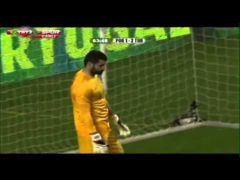 Volkan Demirel 'in Ronaldonun Penaltısını Çıkardığı An