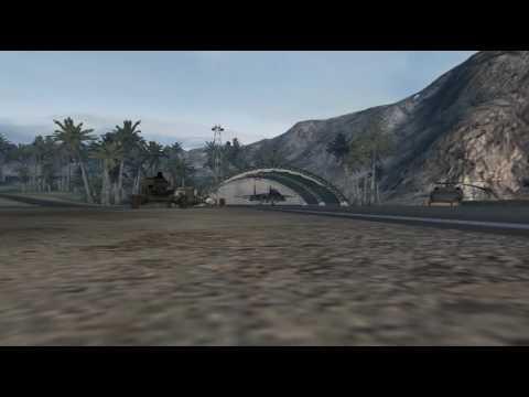 Battlefield 2 MEC Vs. USMC Dogfight