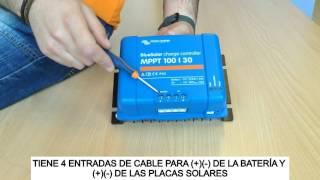 Regulador de Carga MPPT Victron Blue Solar 100/30: Unboxing y Tutorial