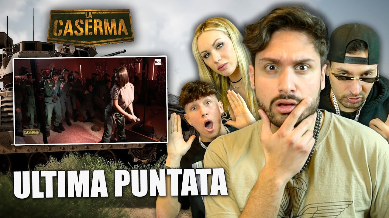 LA CASERMA: ARRIVA ELETTRA LAMBORGHINI (CON LINDA MAURI E ANDREA FRATINO) (ULTIMA PUNTATA) | IPANTS
