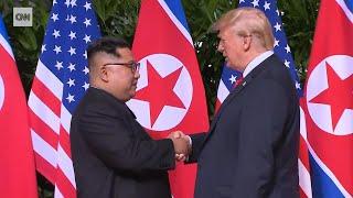 Historischer Gipfel in Singapur: Trump und Kim einigen sich auf Vereinbarung