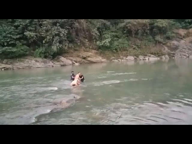 डूबते को पुलिस का सहारा, मंडी में ऐसे बचाई गई डूब रहे युवक की जान....