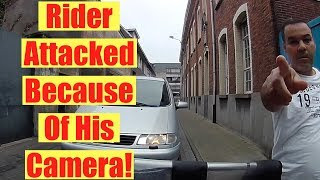 Rider gets attacked… | Motorcycle Road Rage | Bad Drivers Caught On Camera Compilation 2017
