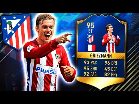 TOTS GRIEZMANN 95!! THE BEST FRENCH STRIKER! FIFA 17 ULTIMATE TEAM