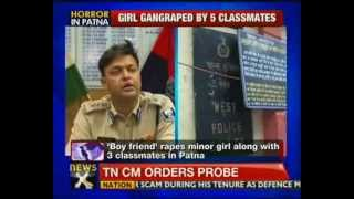 Patna: Minor girl gangraped by classmates - NewsX