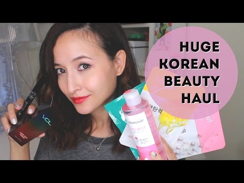 Huge Korea Beauty Haul | Friedia