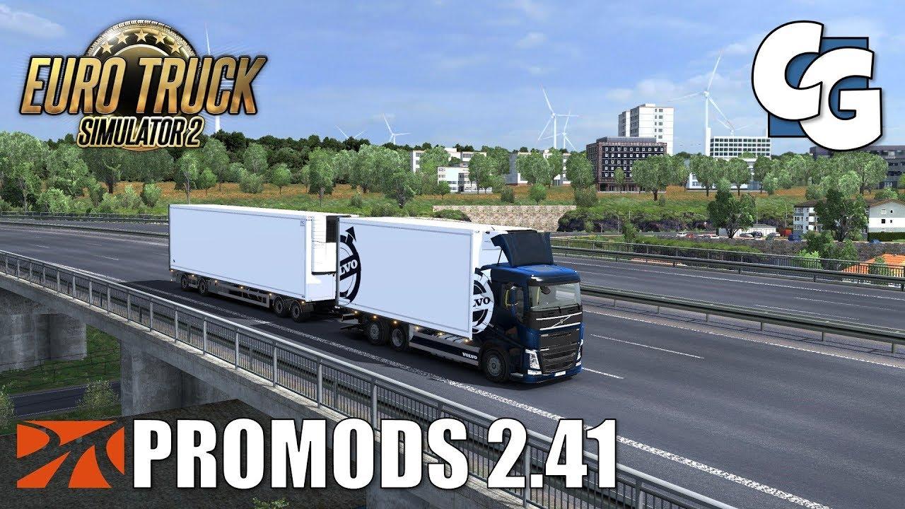 ETS2 - ProMods 2 41 - Volvo FH Tandem - EVR Sounds [Q&A]