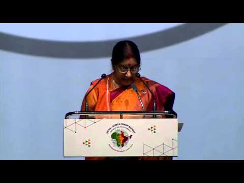 Opening Statement by Smt. Sushma Swaraj, Minister of External Affairs of India