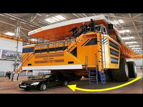Biggest Truck In The World >> Top 10 Biggest Trucks In The World Heavy Equipment Largest Dump Trucks Compilation