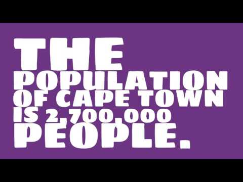 What is the population density of Cape Town?