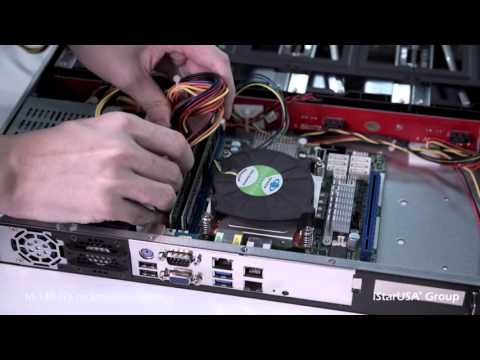 """How to build a NAS with the iStarUSA M-140-ITX  4x 3.5"""" Hotswap Trayless mini-ITX chassis"""