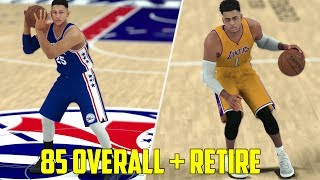 WHAT IF EVERY 85+ OVERALL PLAYER IN NBA 2K17 RETIRED? MYLEAGUE GAMEPLAY!