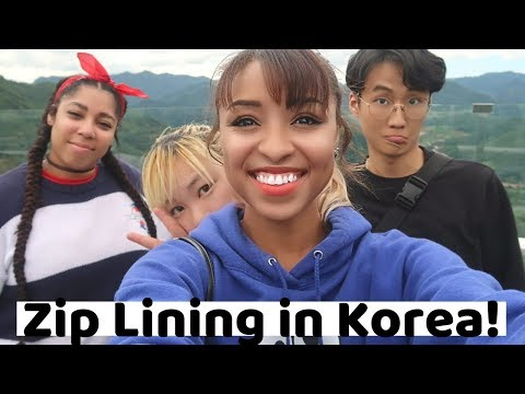 Adventure in Korea: Korea's Tallest Zip line