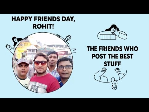 Happy Friendship Day :made by :facebook.com from YouTube · Duration:  58 seconds