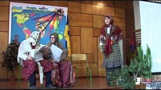 Соснівка школа 7 гумористична сценка учнів на ДЕНЬ ВЧИТЕЛЯ 2014 рік