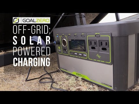 Portable Electricity! Solar Power for Any Basecamp, A Goal Zero Review