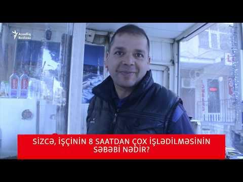 """""""Cəhənnəm 12 Saat Işlətməyi, Pulunu Versin""""- Bakıda Keçirdiyimiz Sorğu"""