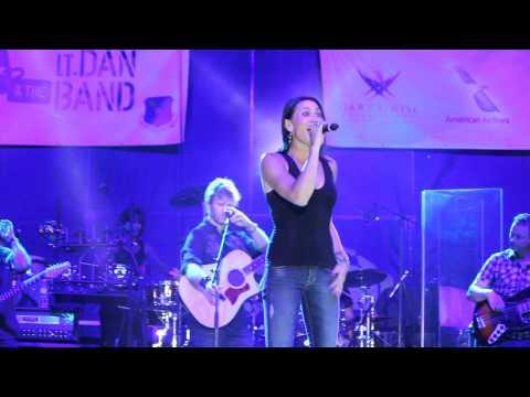 Gary Sinise & The Lt. Dan Band at F.E. Warren A.F.B. perform Let It Go 8/17/2014