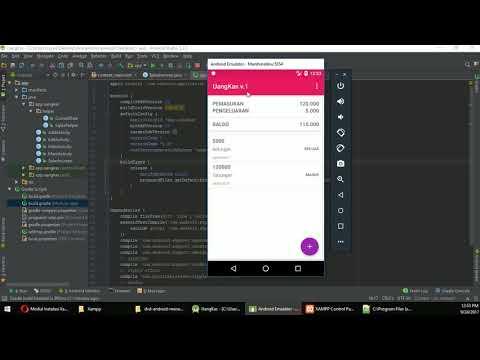 Video Membuat aplikasi android menggunakan mysql dan php