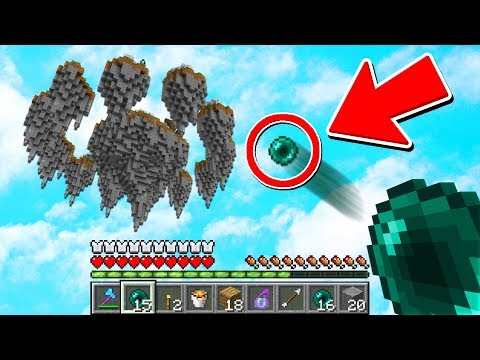 YOU WON'T BELIEVE THIS ENDER PEARL CLUTCH! (Minecraft Skywars)