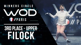 Filock | 3rd Place Upper Division | World of Dance Paris Qualifier 2018 | Winner's Circle