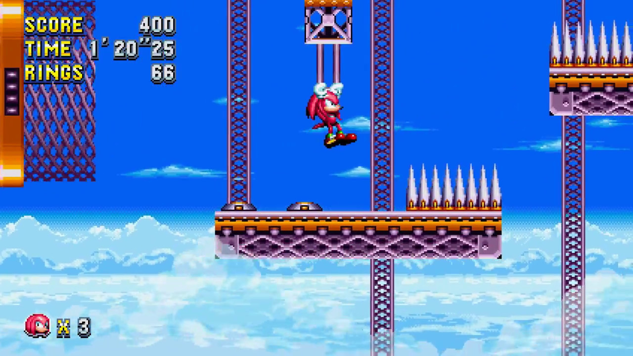 Sonic Mania - Flying Battery Zone Act 1 Gameplay