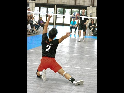 Mountain View Volleyball Club 18 - Black vs MVVC 18 - Red