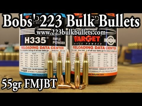 Bobs' 223 Bulk Bullets - OUTSTANDING accuracy! 8 cents each!