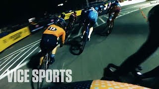 Athlete's POV: Fixed Gear Bike Racing with Justin Williams