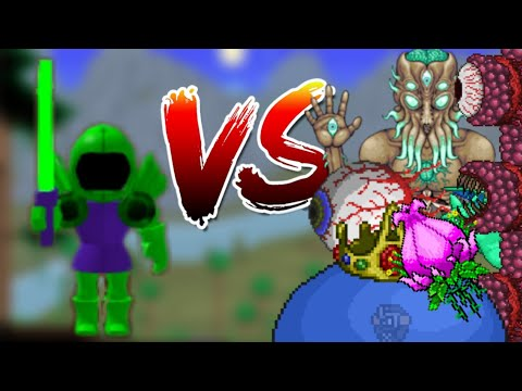 Premium Sword Vs All Bosses | Terraria RPG | Roblox