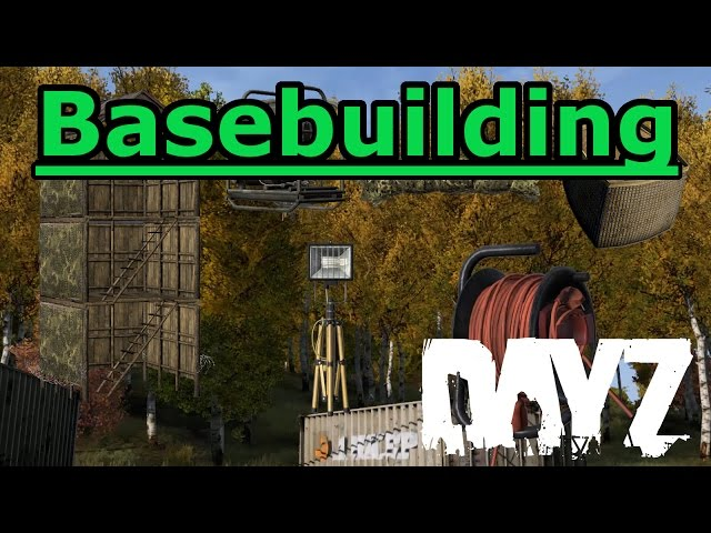 DayZ Standalone 0.61 NEW Base Building Items Showcase